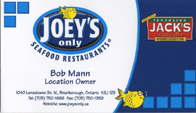 Joey's Only Seafood Restaurant