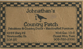 Jonathan's Country Patch